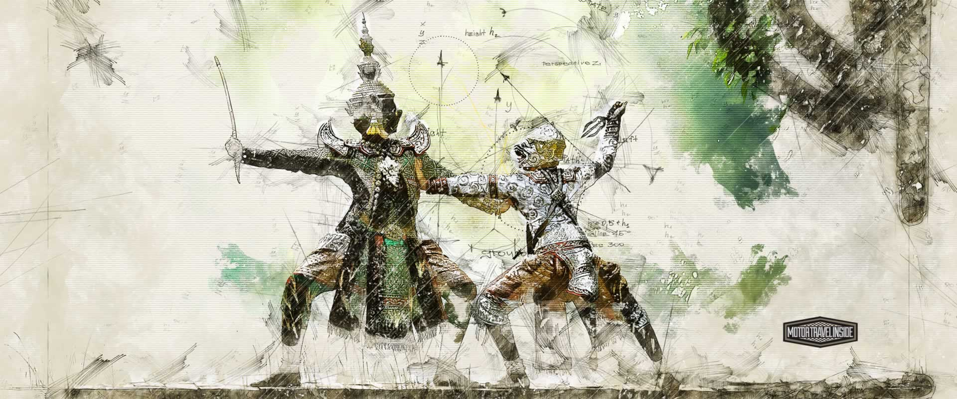 Thai costumes are extravagant as they are stunning, telling ancient stories through movement is poetry in motion