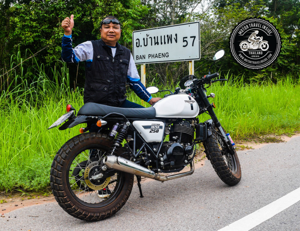 Motorcycle riding with Kaset Sitthikripong